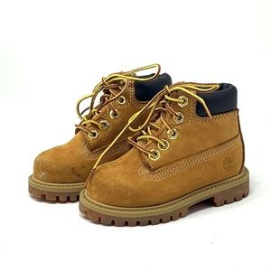 Timberland Toddler Suede Waterproof Boots 12809